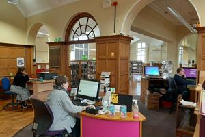 Around 70 staff from the library service team will be supporting the Community Resilience hub