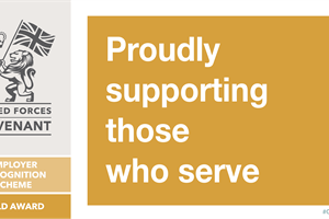 Northamptonshire County Council awarded gold for supporting the Armed Forces