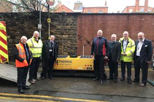 New thermal pothole repair machine set for Northamptonshire