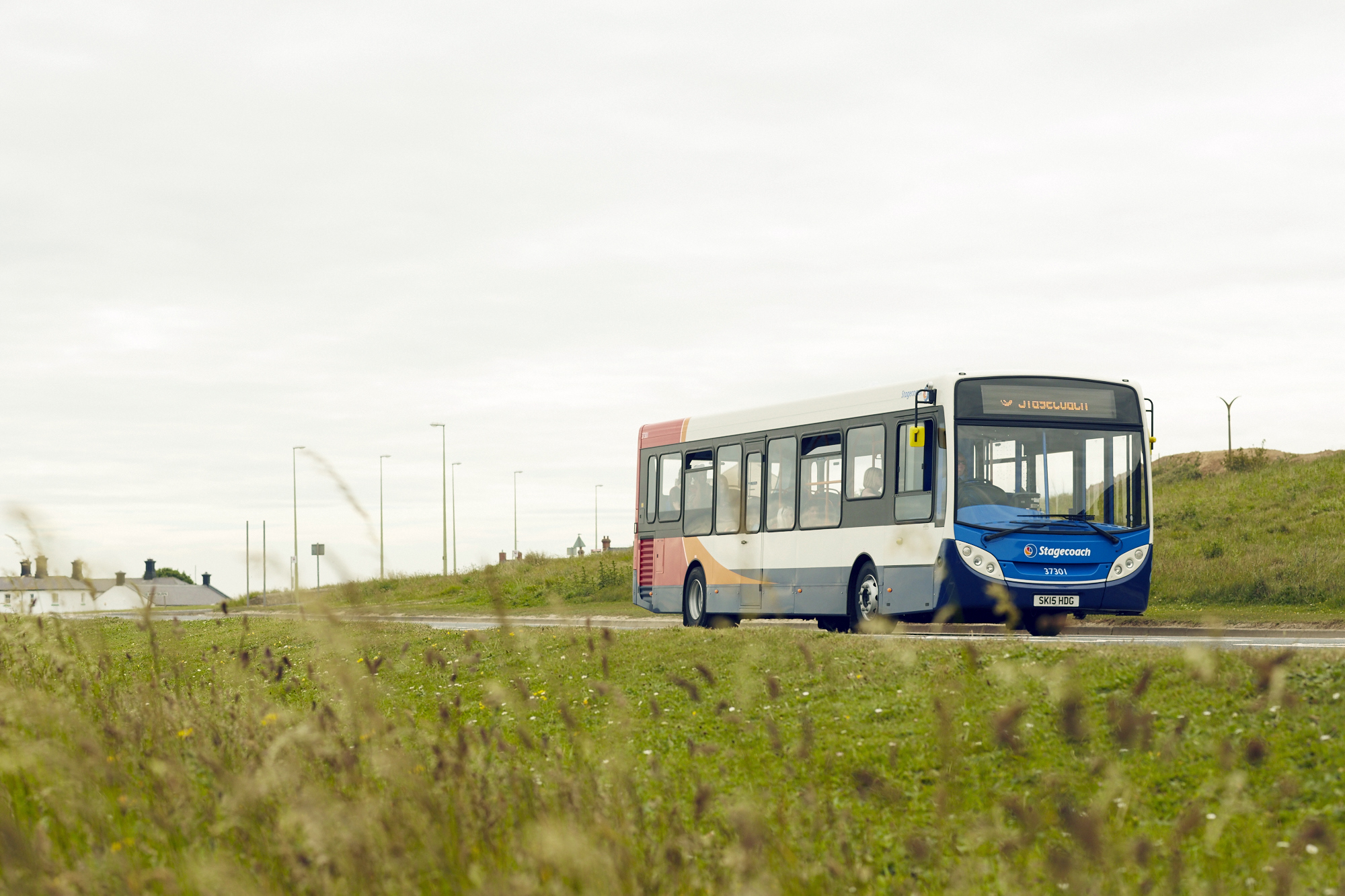 Stagecoach bus: Use of concessionary bus passes is being extended to help the elderly