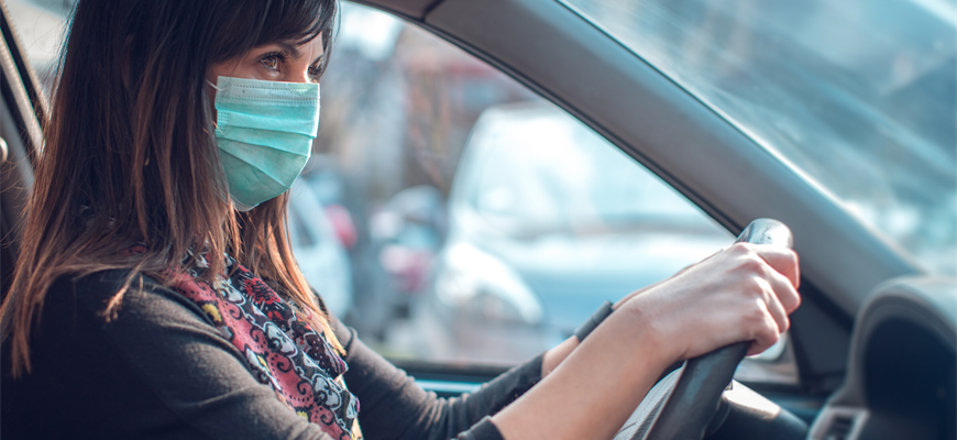Health officials are advising the public to take precautions whilst car sharing