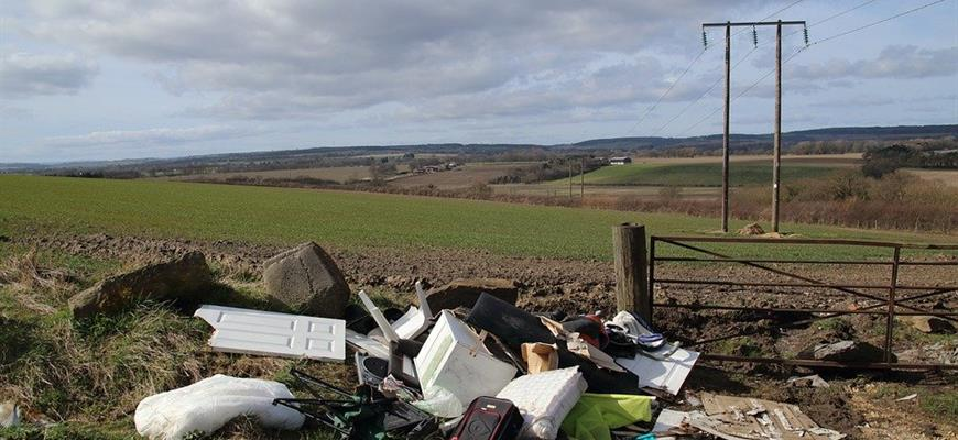 Unlicensed carriers may be tempted to illegally dump, or 'fly-tip'