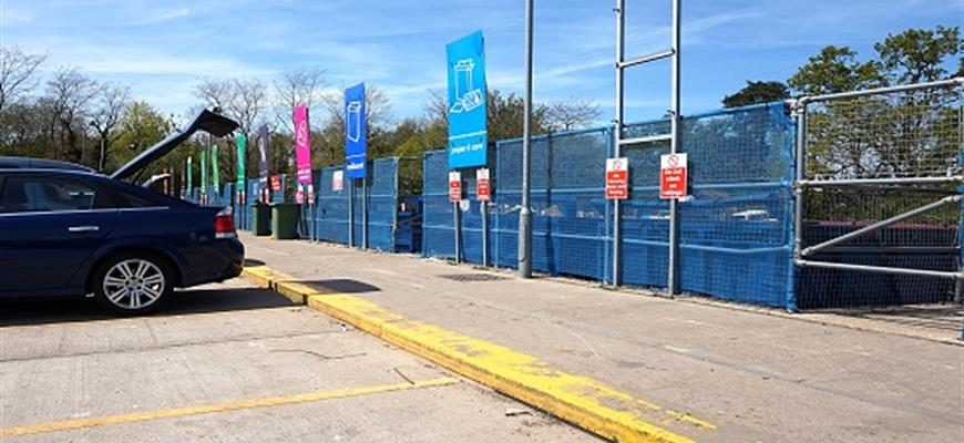 Extended opening hours at county's household waste recycling centres