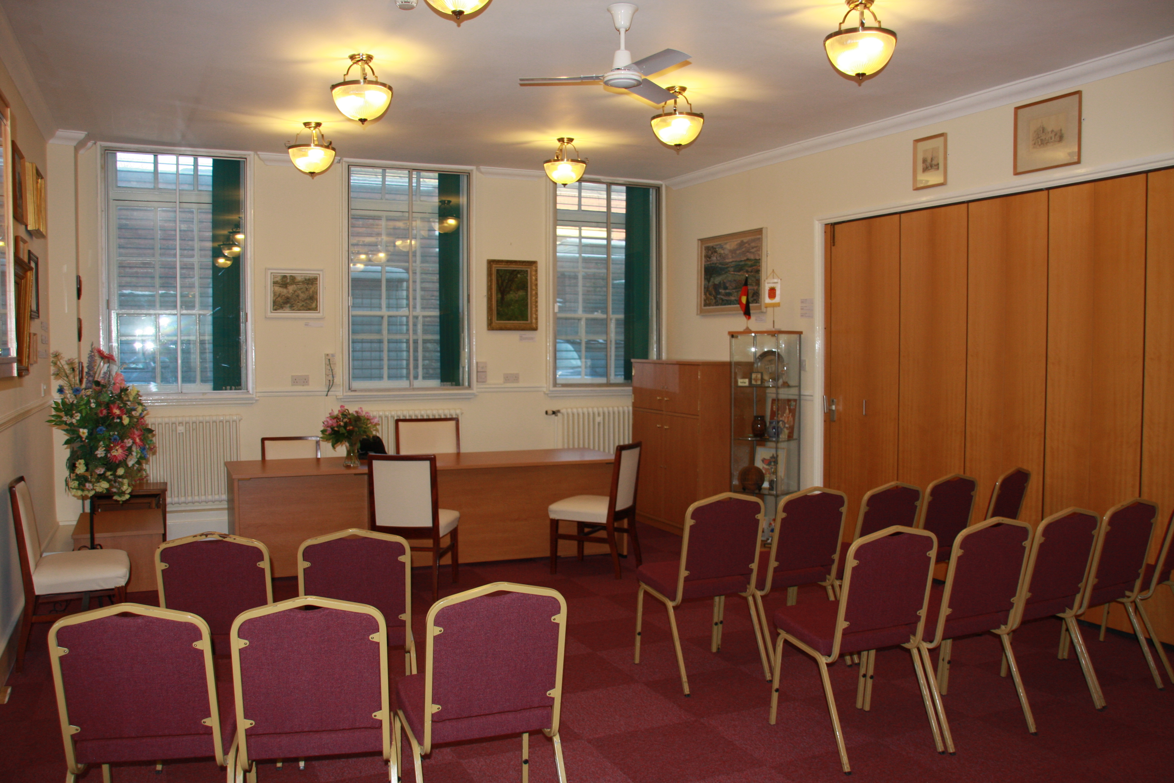 Kettering ceremony room