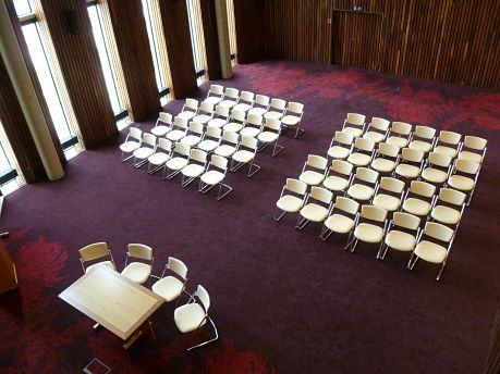 Corby ceremony room