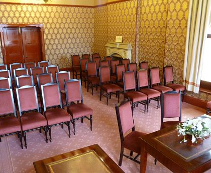 Northampton ceremony room