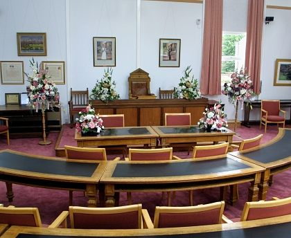 Wellingborough ceremony room