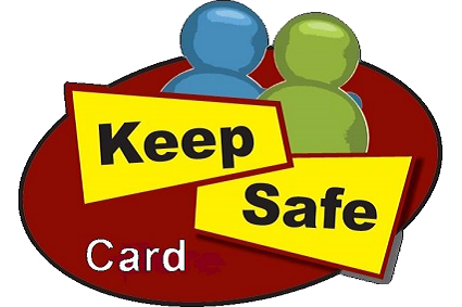 Keep safe card