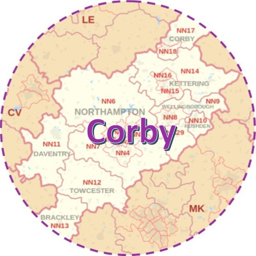 Image representing associated link for 'Corby'