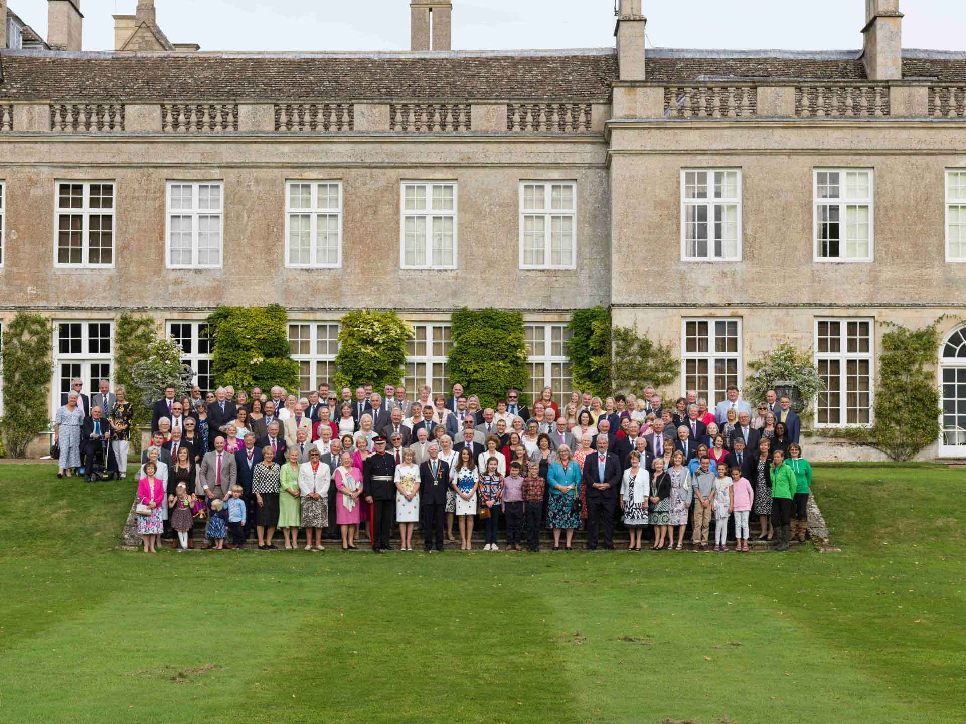 Guests at Boughton House