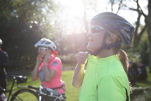 British Cycling women's ride leader training
