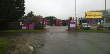 Household waste recycling centres - Waste and recycling