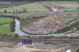 Work progressing on A45 Daventry Development Link