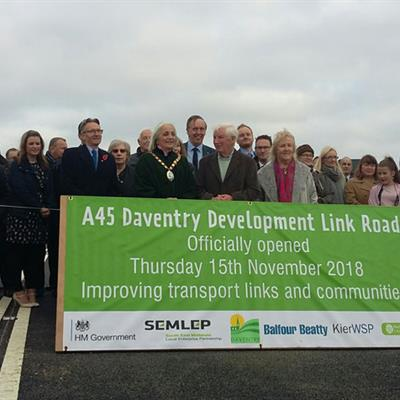 A45 Daventry Link road opens