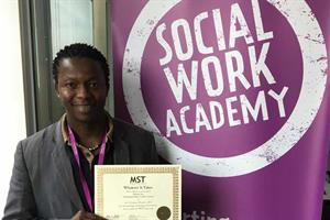 Global award for Northamptonshire social worker who makes a difference
