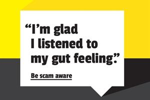 """Stop, report, talk: Be #scamaware"" says Citizens Advice"