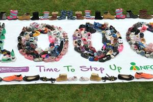 One Thousand Pairs of Shoes: Could you foster a child?