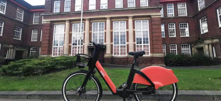 Voi shared e-bikes arrive in Kettering