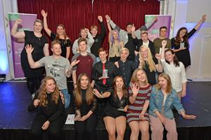 Inspiring young people honoured in the 2017 Northamptonshire Youth Ambition Awards